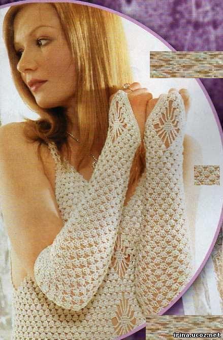 Вязание крючком - Свадебные